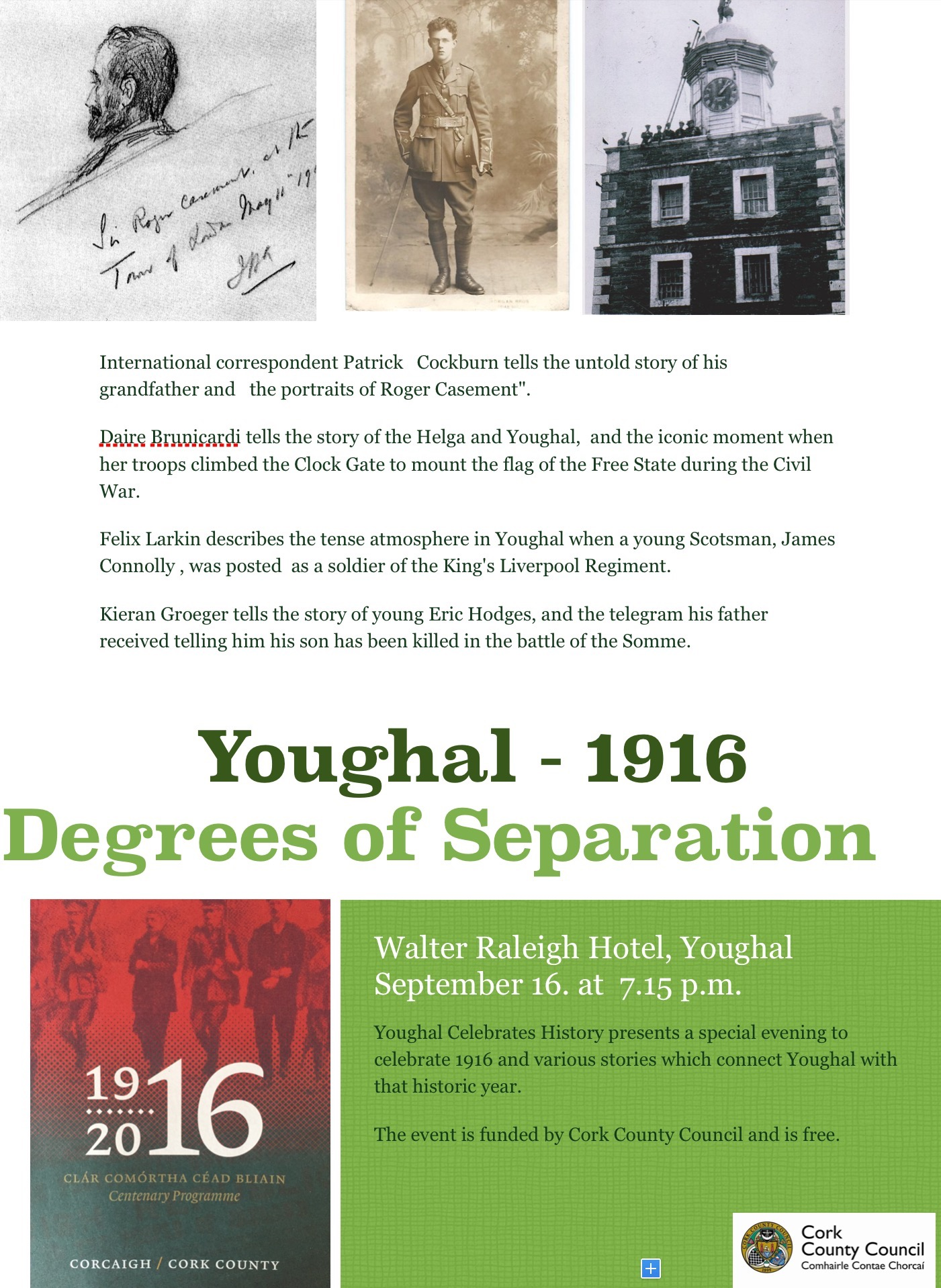 1916 Degrees of Separation
