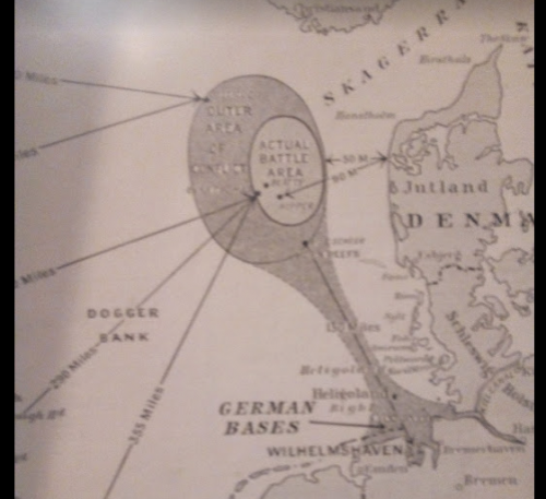 Map of Jutland